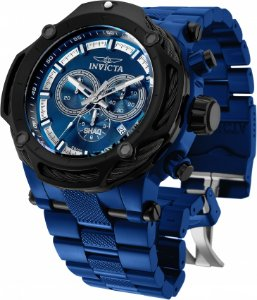 Relógio Invicta SHAQ 33664 Banho Ion Azul Gigante Movt Suíço