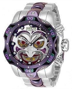 Relógio Invicta DC Comics 33810 Edição Limitada Coringa Movt. Suíço