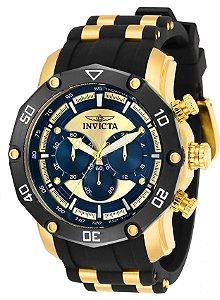 Relógio Invicta Pro Diver 30079 Banho Ouro Cronógrafo