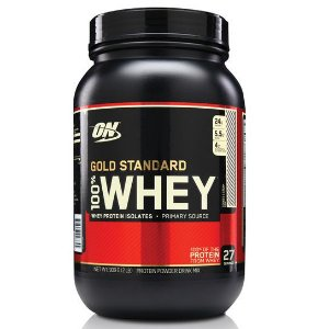 100% WHEY GOLD STANDARD (2 LBS)  - BAUNILHA  -  OPTIMUM NUTRITION