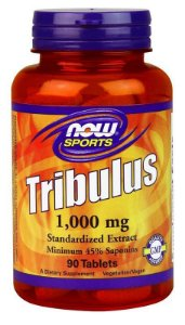 TRIBULUS TERRESTRIS 1000MG (90 CÁPSULAS) - NOW SPORTS