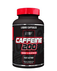 CAFFEINE 200MG (60 CÁPSULAS) - NUTREX