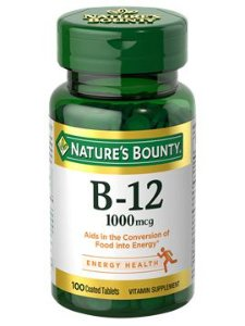 VITAMINA B12 1.000MG (100 TABLETES) - NATURE'S BOUNTY