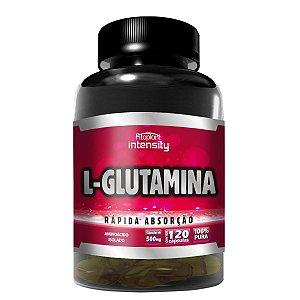 L-GLUTAMINA - 500MG (120 CÁPSULAS) - FITOPLANT
