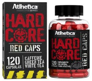 HARDCORE RED CAPS - (120 CÁPSULAS) - ATLHETICA