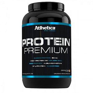 PROTEIN PREMIUM PRO SERIES (900G) - CHOCOLATE - ATLHETICA