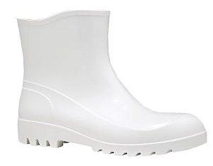 Bota Branca de Pvc Cano Extra Curto Fujiwara CA 38200