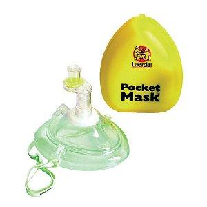 Mascara Ventilação Boca a Boca Pocket Mask