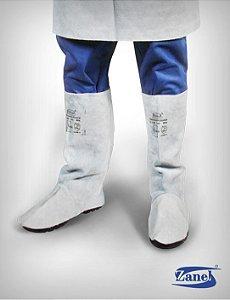Perneira de Raspa com Velcro Zanel CA 13990