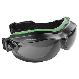 Oculos Ampla Visao Helix Cinza Carbografite CA 29616