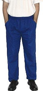 Calça de Brim Azul Uniforme Profissional