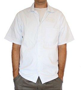Jaleco de Brim Branco Uniforme Proffisional