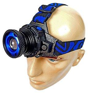 Lanterna de Cabeça HY-6816 Cree Led Q5 84000 lumens 30000w