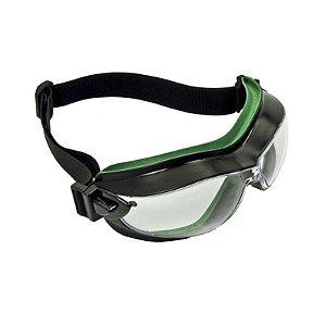 Oculos Ampla Visao Helix Incolor Carbografite CA 29616