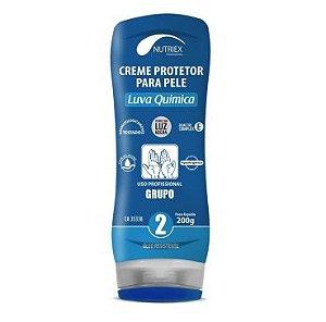 Creme Proteção Pele Luva Química Grupo 2 CA 35338 200g