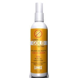 Repelente Luvex Gold Spray 120ml ULTRA REPELENTE 10HS