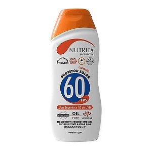 Protetor Solar Nutriex UV FPS 60 120ml