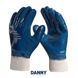 Luva Nitrilica LightFlex Total Danny CA 35441 NITRILON