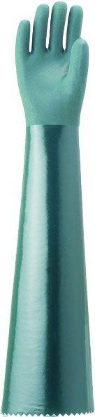 Luva de PVC 70cm Plastcor CA 34570 FORRADA PALMA ÁSPERA 70 CM