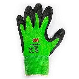 Luva de Nylon Nitrilica Grip Glove 3M CA 30515 COMFORT TAM.9