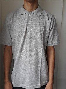 Camisa Polo Cinza P