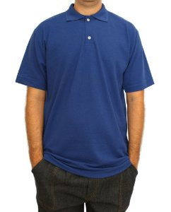 CAMISA POLO AZUL ROYAL P