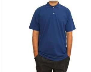 CAMISA POLO AZUL ROYAL GG