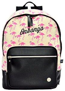 Mochila Feminina Onbongo Flamingo ONM1811547
