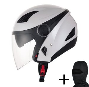 Capacete Moto Zeus 610 Branco Pérola