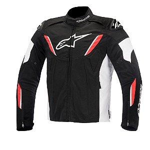 Jaqueta Moto Alpinestars T-GP R Preta Vermelha Impermeável