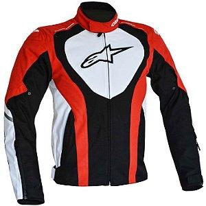 Jaqueta Moto Alpinestars Caladan Pt Vrm Br Impermeável