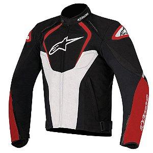 Jaqueta Moto Alpinestars T-Jaws V2 Preta Vermelha Verão
