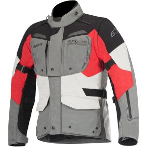 Jaqueta Moto Alpinestars Durban GTX Cz Pt Bg Vrm Impermeável