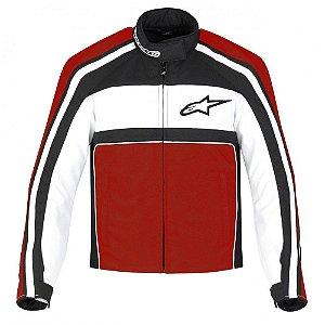 Jaqueta Moto Feminina Alpinestars T-Dyno Pt Vm Impermeável