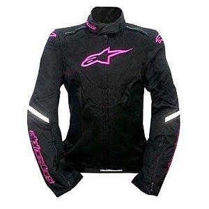 Jaqueta Moto Feminina Alpinestars Caladan Pt Rs Impermeável