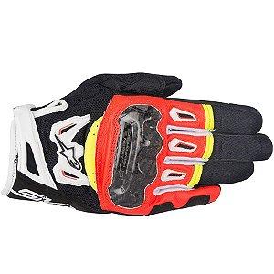 Luva Moto Alpinestars Smx-2 Air Carbon V2 Pto Vrm Br Am