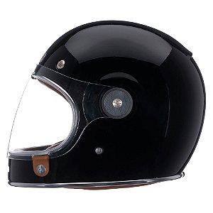 Capacete Moto Bell Bullitt Solid Preto