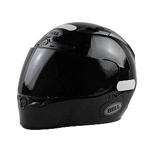 Capacete Moto Bell Qualifier DLX Solid Preto Brilhante