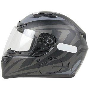 Capacete Moto Bell Qualifier DLX Impulse Fosco Preto