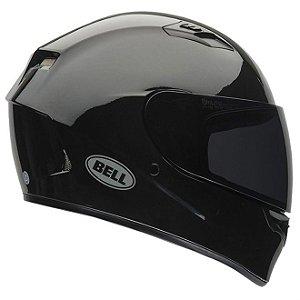 Capacete Moto Bell Qualifier Solid Preto Brilhante