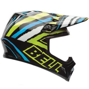 Capacete Moto Bell MX-9 Tagger Scrub Psycho