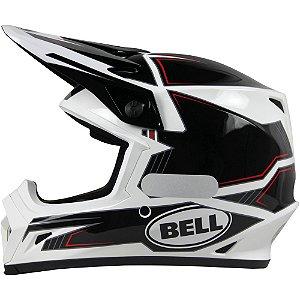 Capacete Moto Bell MX-9 Blockade Preto