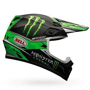 Capacete Moto Bell MX-9 Pro Circuit Replica Camo Verde