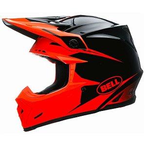 Capacete Moto Bell Moto-9 Infrared Intake