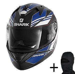 Capacete Moto Shark Ridill Tika KBW Azul Fosco