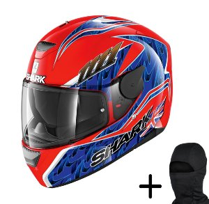 Capacete Moto Shark D-Skwal Forgaty Replica RBB