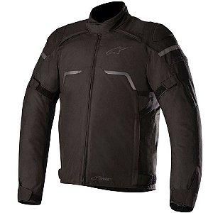 Jaqueta Moto Alpinestars Hyper Preta Impermeável Motoqueiro