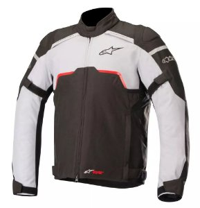 Jaqueta Moto Alpinestars Hyper Preta Cinza Impermeável