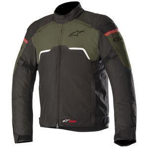 Jaqueta Moto Alpinestars Hyper Verde Militar Impermeável