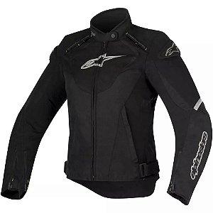 Jaqueta Moto Feminina Alpinestars T-Jaws Pt Cz Impermeável